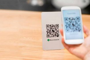 Banco Santa Fe presentó código QR, su billetera virtual para pagar con el celular