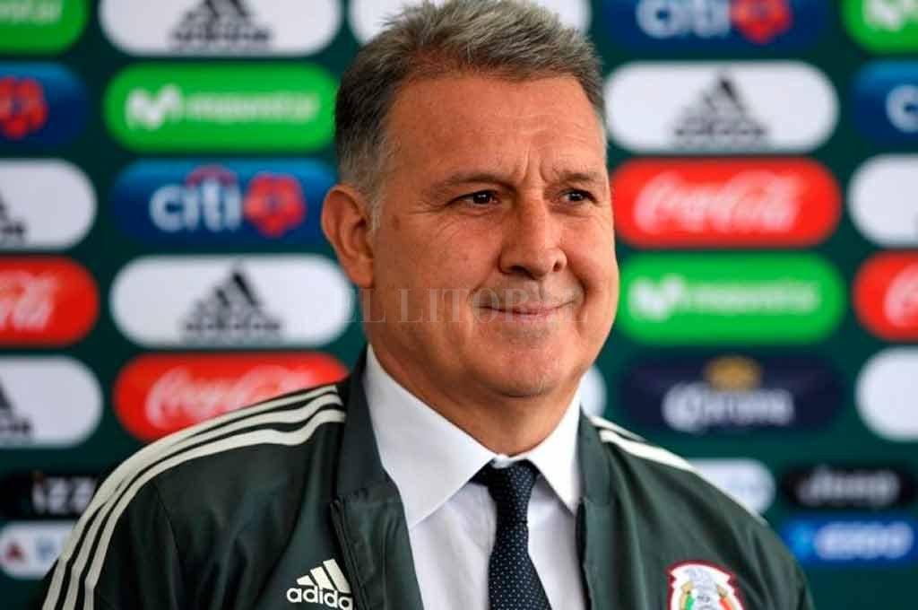 El ex técnico de Argentina y de Barcelona ahora conduce a la selección azteca <strong>Foto:</strong> Gentileza