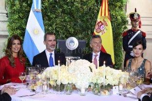 """Macri: """"La historia ha demostrado que los españoles son los mejores socios que tenemos"""" -"""