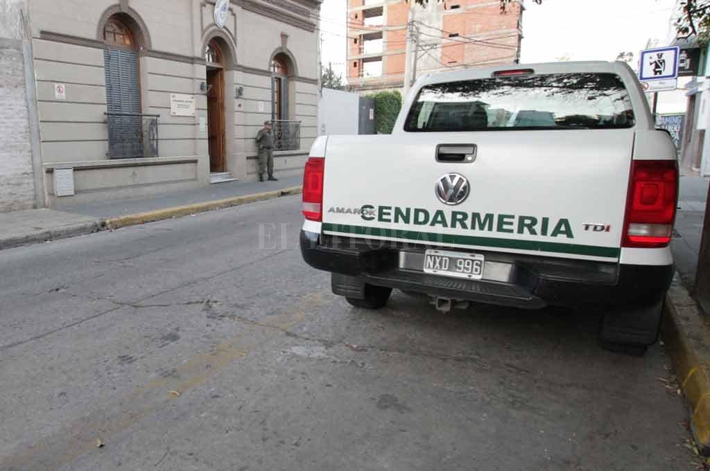 Personal de Gendarmería Nacional trabajó en los operativos.  <strong>Foto:</strong> Manuel Alberto Fabatía