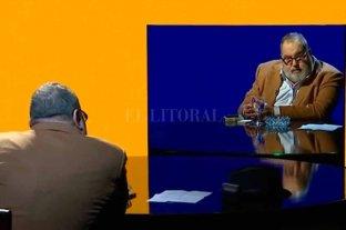 Lanata volvió a la televisión y se entrevistó a él mismo