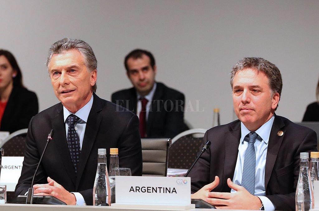 Macri y Dujovne. <strong>Foto:</strong> Archivo El Litoral