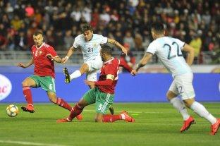 Argentina le ganó a Marruecos por la mínima