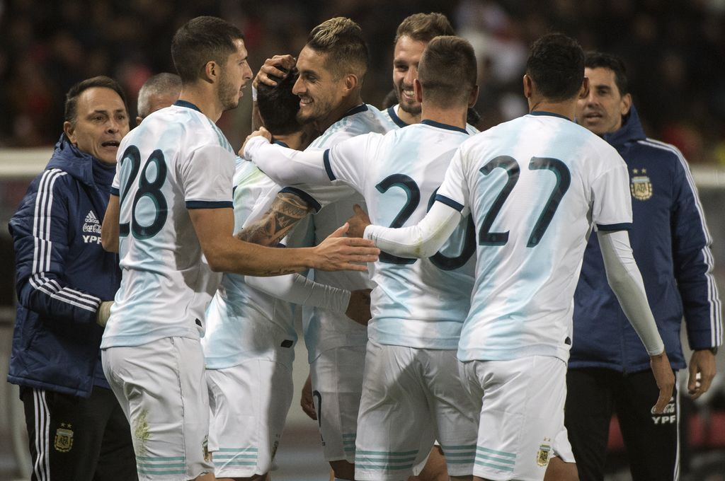 Argentina le ganó a Marruecos por la mínima -  -