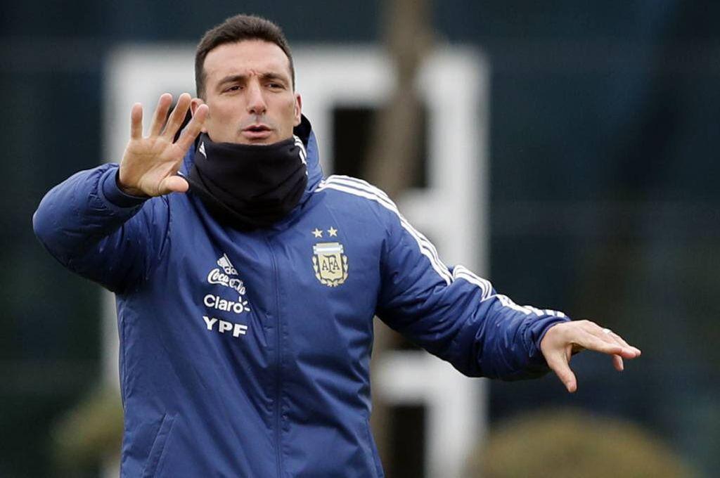 """Scaloni: """"Si saltamos el partido con Venezuela, digamos que Argentina llega bien"""""""