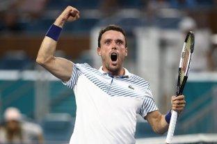 Roberto Bautista Agut eliminó a Djokovic en Miami y se metió en cuartos