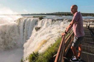 Manu Ginóbili invita a visitar las Cataratas del Iguazú