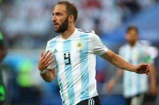Gonzalo Higuaín anunció que no volverá a jugar en la Selección Argentina
