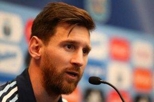 """Messi, enojado: """"Nosotros no vendemos humo y amamos a la Selección"""""""