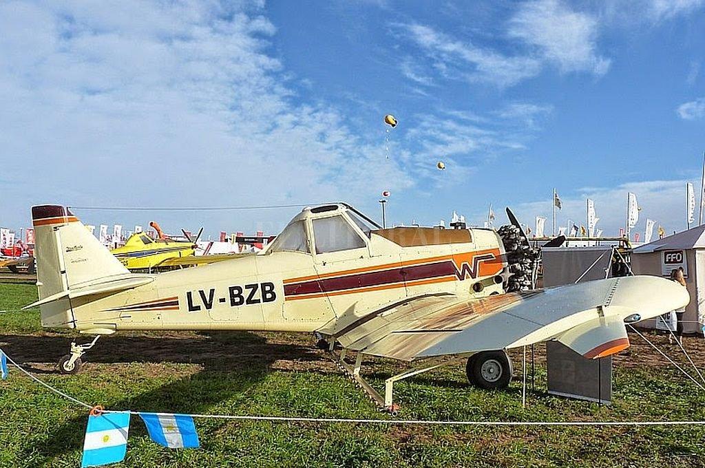Esta es la aeronave siniestrada, accidente en el que murió el piloto. <strong>Foto:</strong> Captura digital - Gentileza José Soria