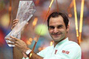 Federer es campeón en Miami y agiganta su leyenda
