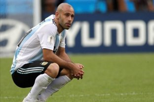 """Mascherano y el Mundial de Rusia: """"Algunos no estábamos en el nivel que requería la Selección"""""""