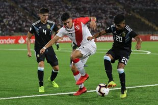 Sudamericano sub 17: Argentina comenzó el hexagonal final con un empate