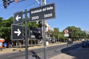 No hay polémica: hace 10 años rige una ordenanza que nombra a Aristóbulo del Valle desde bulevar hacia el norte