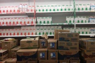 Falta leche descremada en supermercados de la ciudad