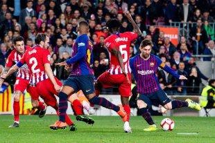 Barcelona le ganó 2 a 0 al Atlético Madrid y se acerca al campeonato