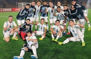 Sudamericano sub 17: Argentina enfrenta a Chile