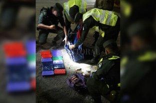 Condenaron a una mujer que llevaba 16,5 kilos de cocaína