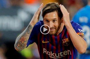 "Video: Los mejores ""no goles"" de Messi"