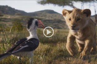 Presentaron el nuevo trailer de El Rey León -