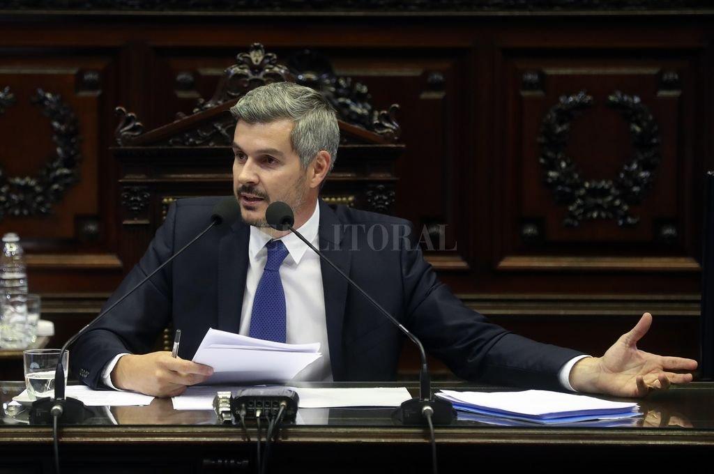 Marcos Peña presenta el primer informe de gestión del año ante Diputados