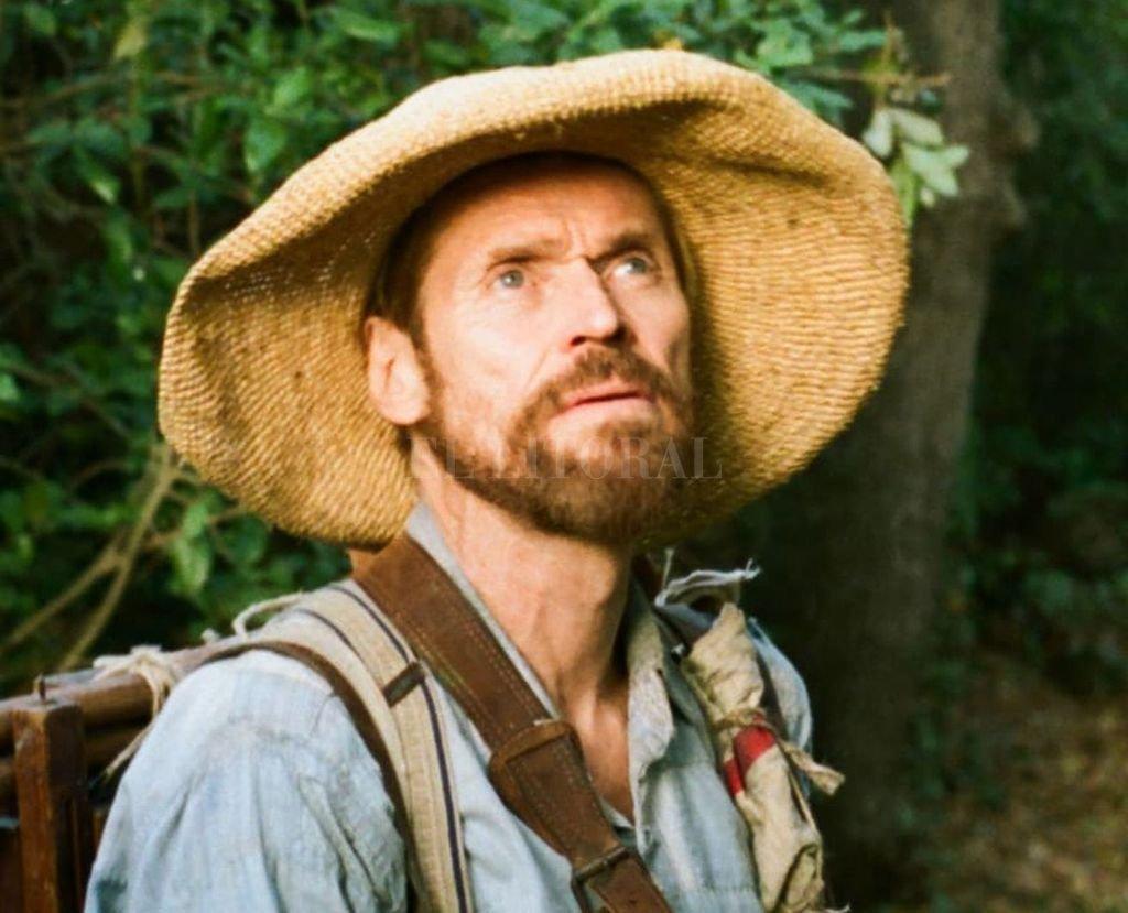 Dafoe se pone en la piel de Van Gogh, en un filme que rescata su mirada sobre el mundo. <strong>Foto:</strong> Gentileza CBS Films