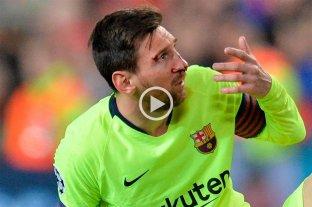 Descartan que Messi tenga una lesión en el rostro