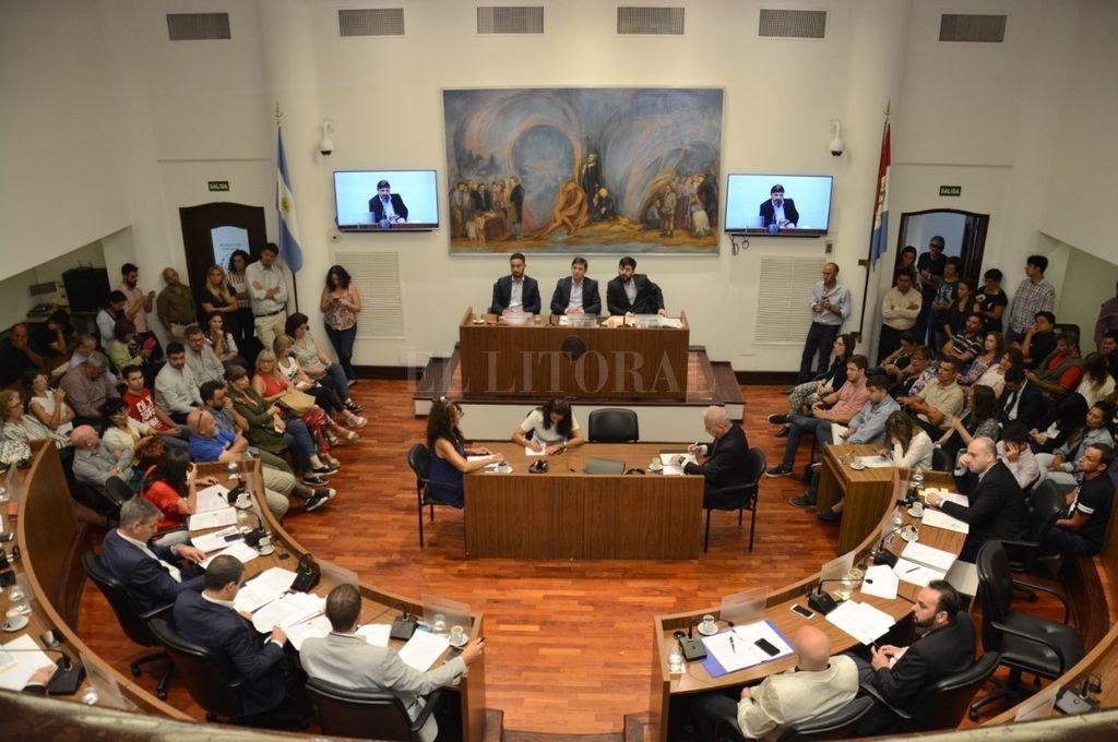 Cruces muy fuertes entre referentes del Legislativo local por el episodio donde fue gravemente herido un comerciante de la ciudad. Crédito: Gentileza