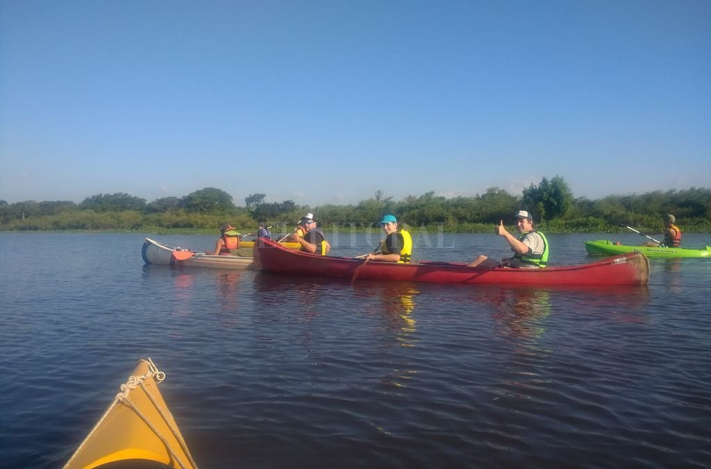 A REMAR. La jornada del sábado es también una oportunidad para navegar el corazón del delta santafesino. Crédito: Gentileza