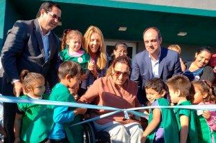 Michetti inauguró en Reconquista y Avellaneda obras de la Nación