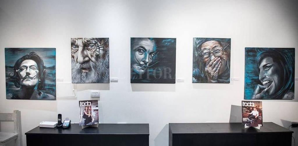 """Parte de la muestra """"Transiciones"""" de la artista Laura Porporatto. <strong>Foto:</strong> Gentileza Estudio Mario Platini"""