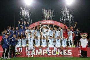 Argentina se coronó campeón del Sudamericano sub 17