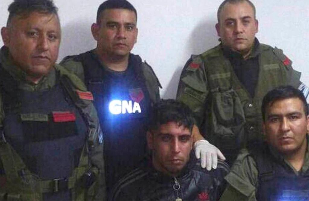 El día de la detención de Darío Badaracco <strong>Foto:</strong> Archivo