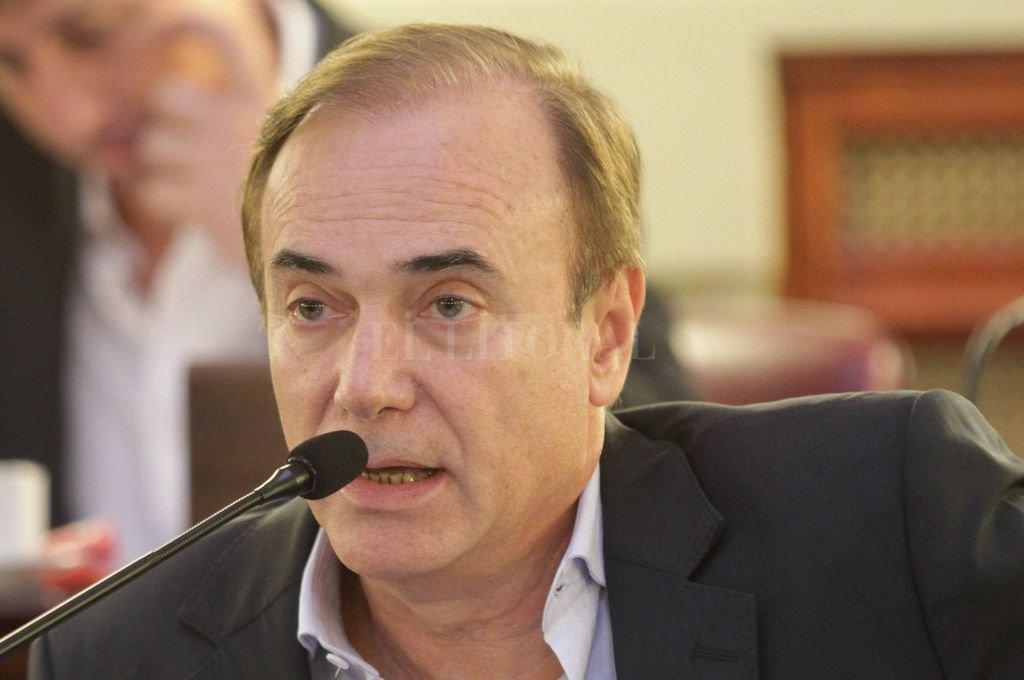 Diputado provincial, Eduardo Di Pollina.  Crédito: Archivo El Litoral