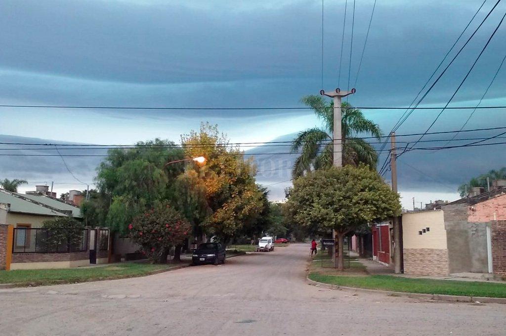 Espectaculares fotos de la tormenta en Santa Fe