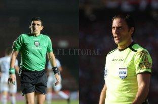 Árbitros designados para las revanchas de la Copa de la Superliga