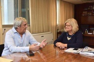 Romero se reunió con Balagué por los catedráticos