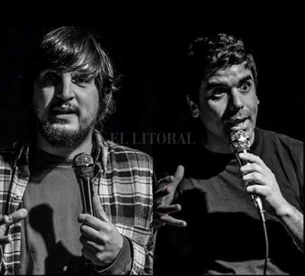 Belisario Ruiz y Lisandro Riera, dos de los puntales del colectivo humorístico, serán los protagonistas de la velada. <strong>Foto:</strong> Gentileza producción