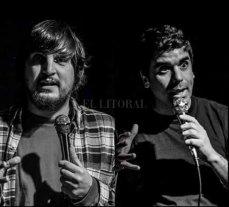 Litoral Stand Up a la gorra - Belisario Ruiz y Lisandro Riera, dos de los puntales del colectivo humorístico, serán los protagonistas de la velada. -