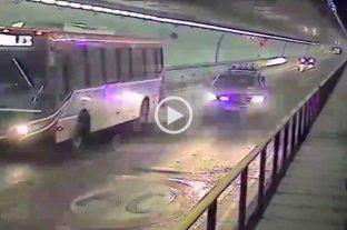 Video: así fue la persecución de ladrones de Santa Fe a Paraná  -