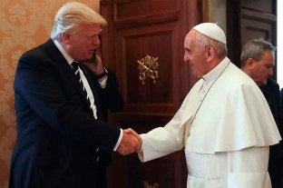 """Trump expresó su """"cercanía"""" a Francisco tras el incendio en Notre Dame"""