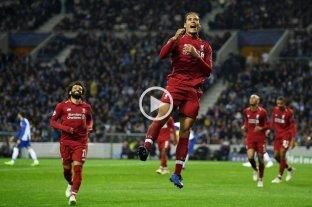 Liverpool goleó al Porto y enfrentará a Barcelona en semifinales  -  -