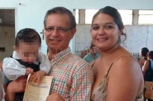 Murió Horacio Borda, el parrillero agredido por punteros políticos - Horacio junto a Luciana, en una imagen familiar.
