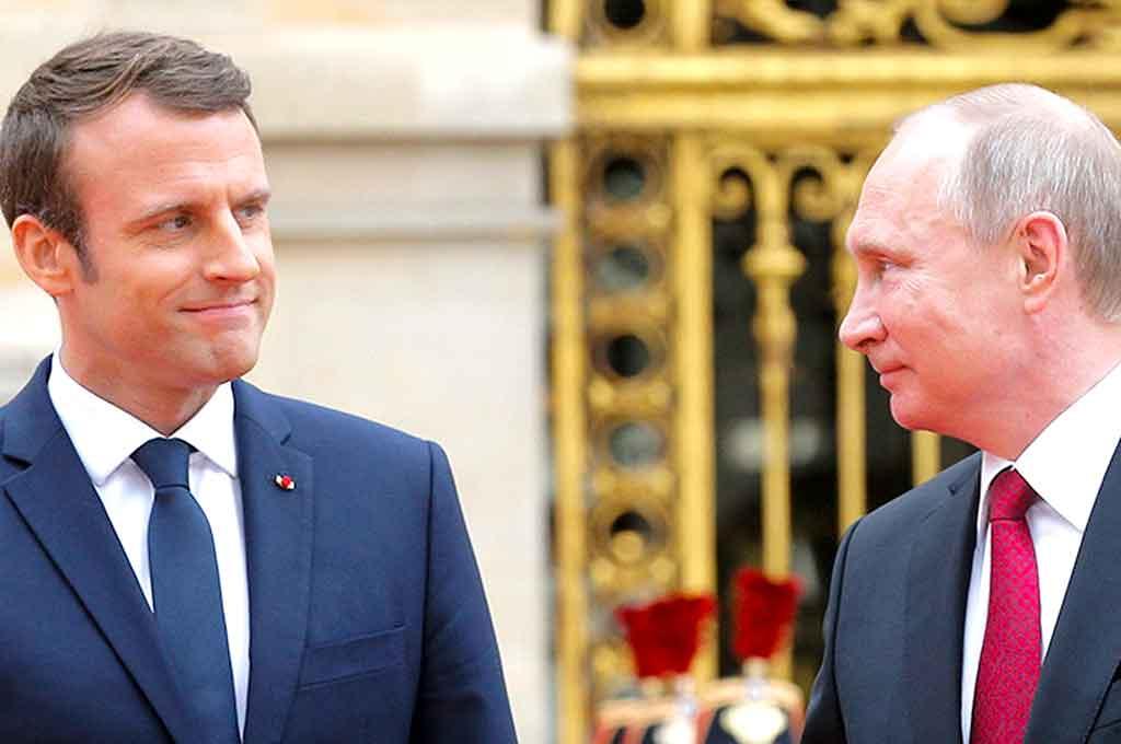 Putín anunció que pondrá a disposición empresas rusas para reconstruir Notre Dame