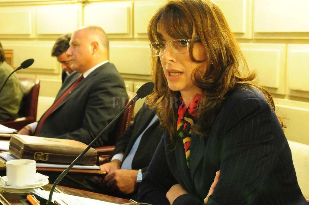 María Eugenia Bielsa cuando era diputada en el año 2012.  <strong>Foto:</strong> Archivo El Litoral