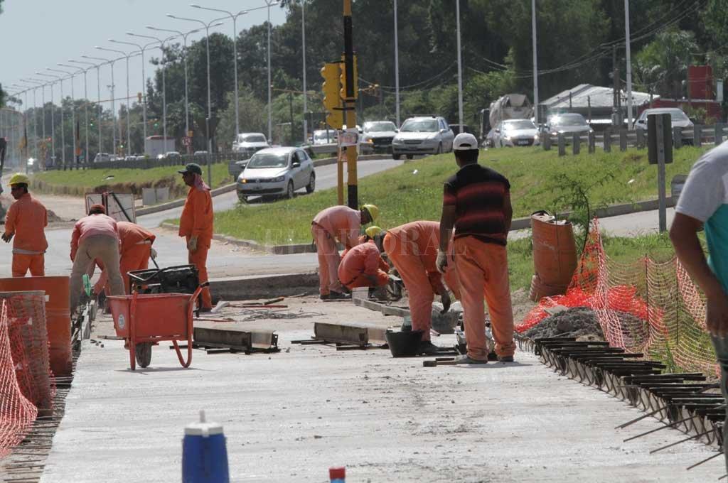 Continúan los trabajos en la Ruta Provincial 1