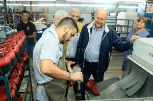 """Perotti: """"Voy a defender la industria de nuestra provincia y a sus trabajadores"""" -  -"""