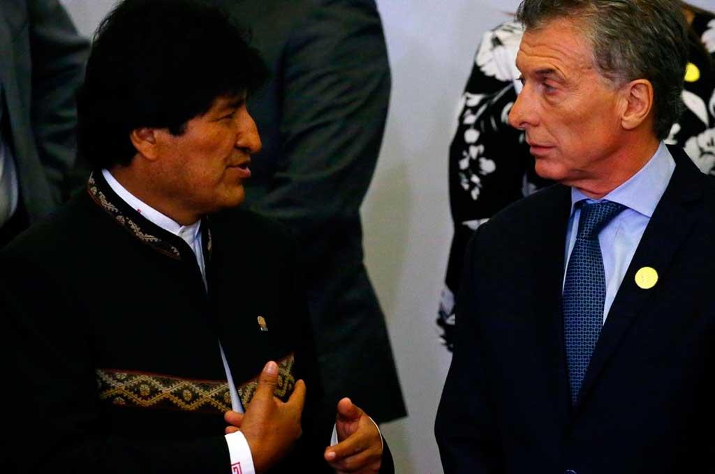 Macri recibe a Evo Morales con una agenda que incluye el gas, salud y Venezuela