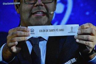 Copa Sudamericana: Colón quedó en el bombo 1 y define de local - Los hinchas sabaleros deberán esperar al 13 de mayo para conocer el próximo destino en la Copa Sudamericana