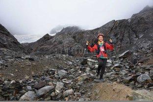 """Una santafesina hizo podio en el trail del """"Fin del Mundo""""  - Marisa Nieva. la santafesina fue tercera en una de las carreras de trail más importantes del país. -"""